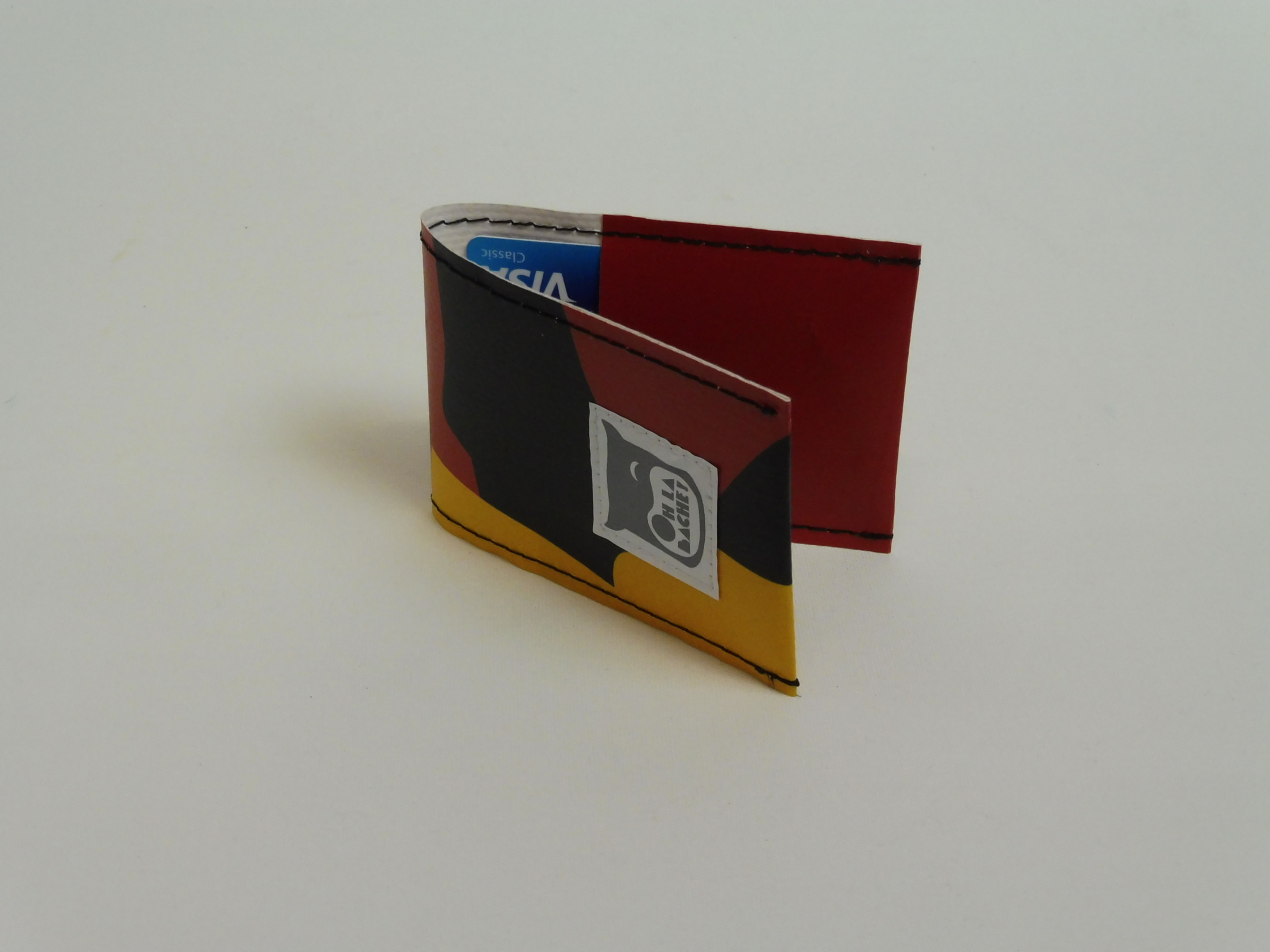 NOé Porte cartes en bâche par Oh_la_bâche C