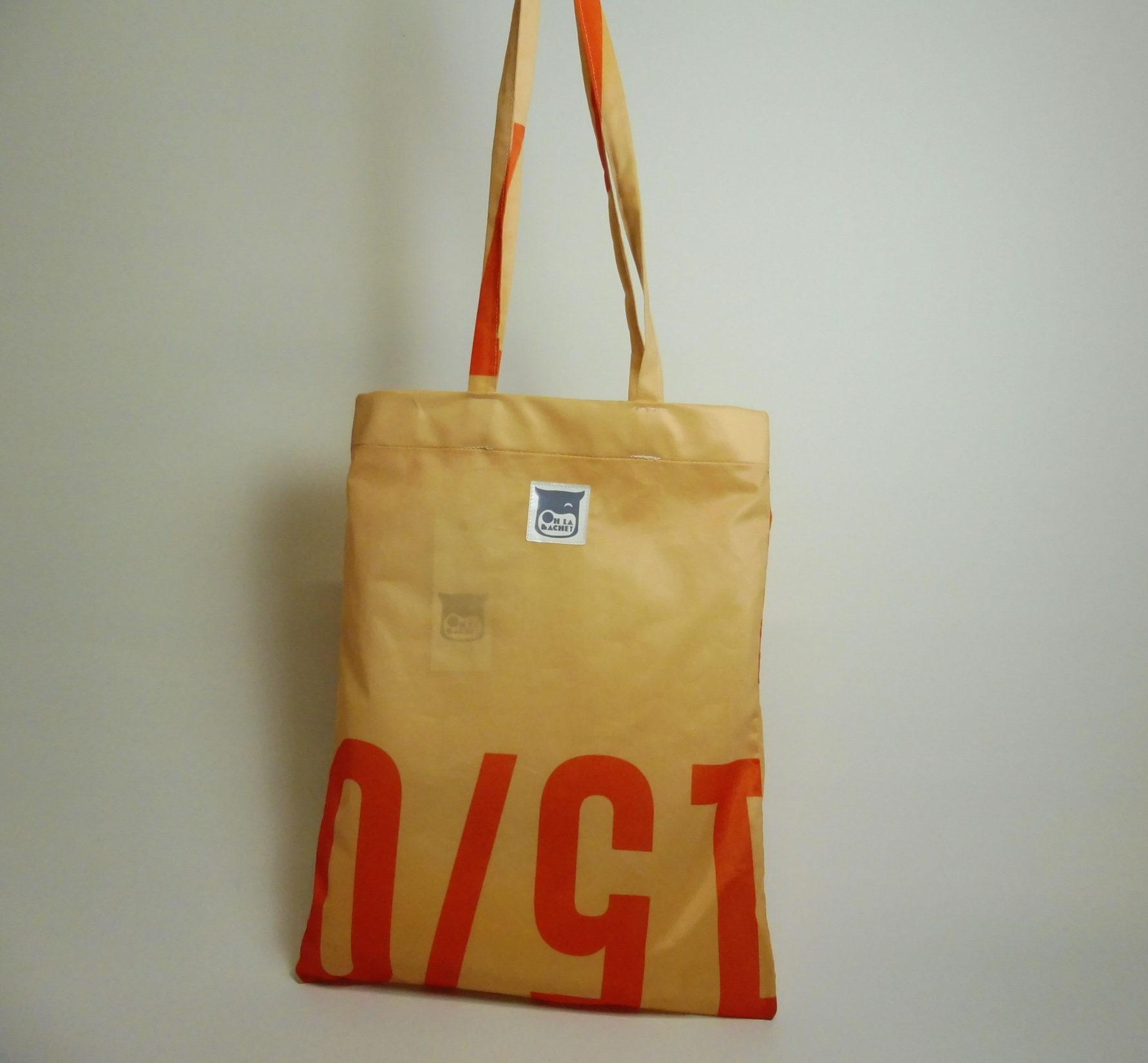 TELA Tote bag en bâche by Oh_la_bâche 30×40