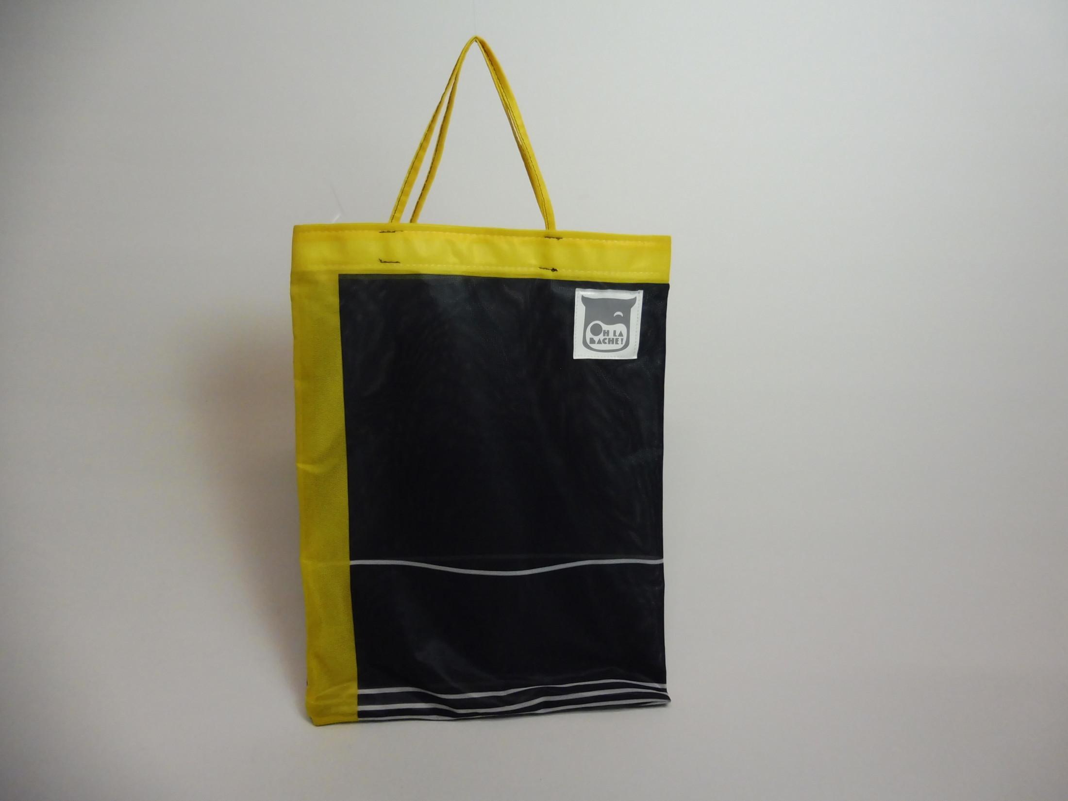 TOBIAS Tote bag en bâche by Oh_la_bâche 27×35