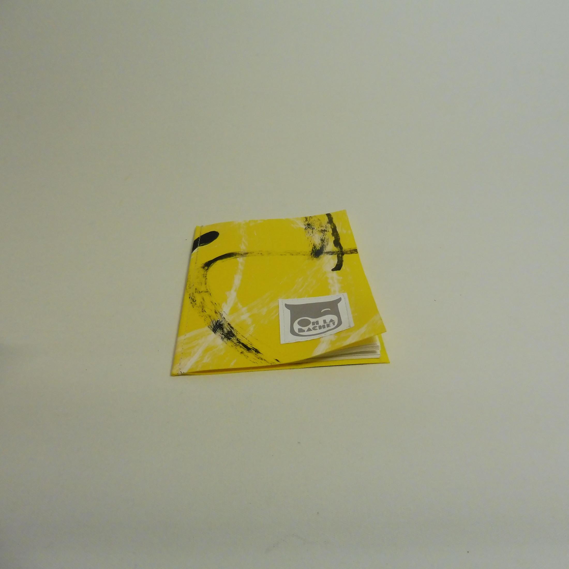 PABLO petit carnet en bache recyclée Oh_la_bâche C