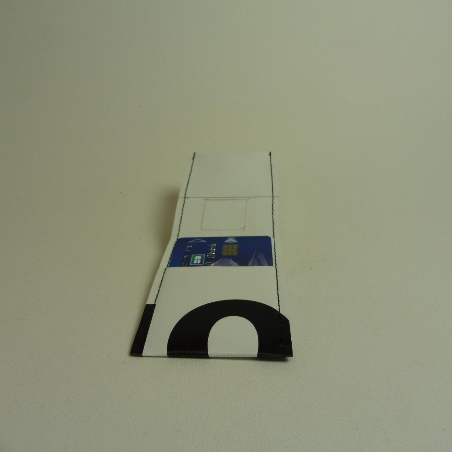 NOé Porte cartes en bâche by Oh_la_bâche E OUVERT