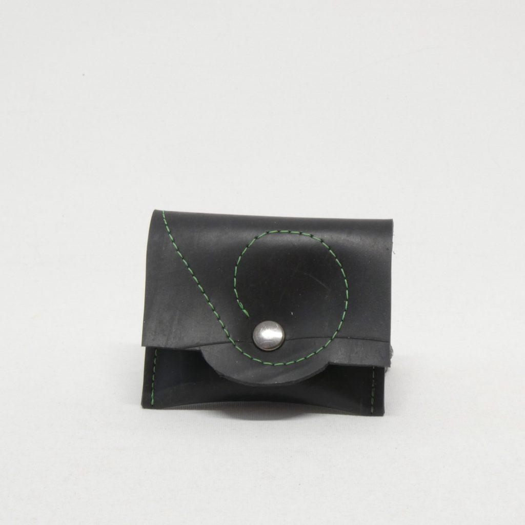 Oh la bâche ! LUDIVINE-Porte-monnaie-à-pression-noirvert-1024x1024 LUDIVINE Porte monnaie en chambre à air