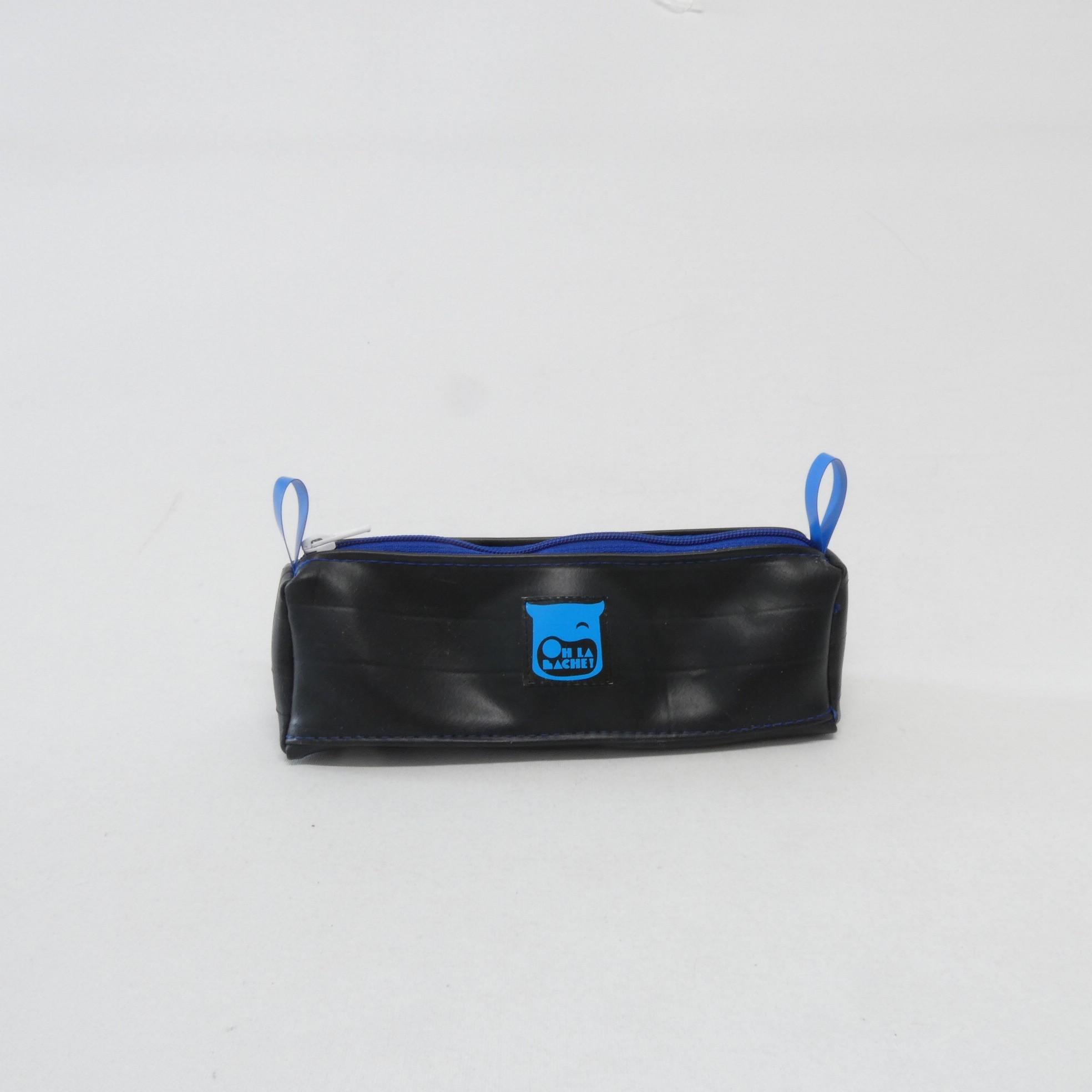 MARTHE Trousse en chambre à air zippée no:r:bleu