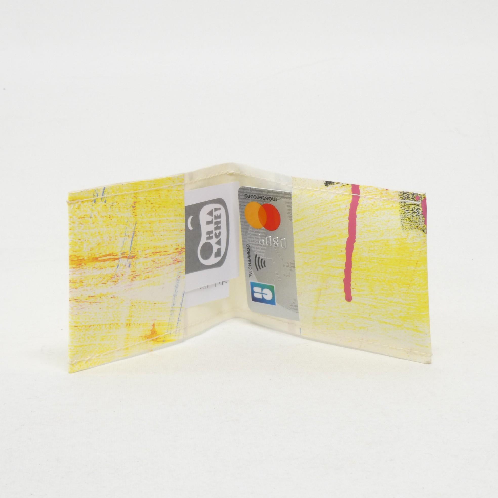 NOé Porte carte by Oh la bâche! d ouvert